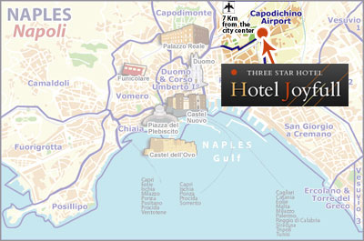 Hotels Naples, Mappa